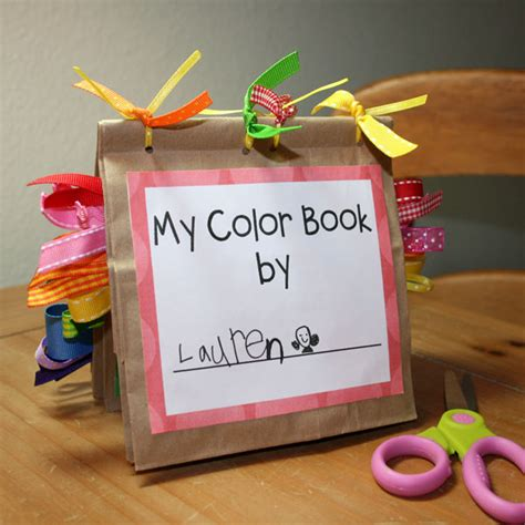 craft books for coloring pages free printable color book preschool craft