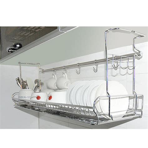 kitchen sink racks stainless dish drying fixing rack ladle cup spoon shelf