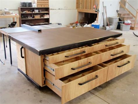 woodworking assembly table outfeed assembly table by thepps lumberjocks