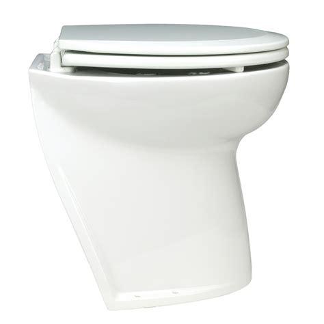 Jabsco Deluxe Toilet by Jabsco Deluxe Flush Freshwater Electric Toilet W Angled