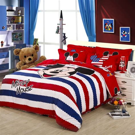 size mickey mouse comforter sets mickey mouse size comforter set images