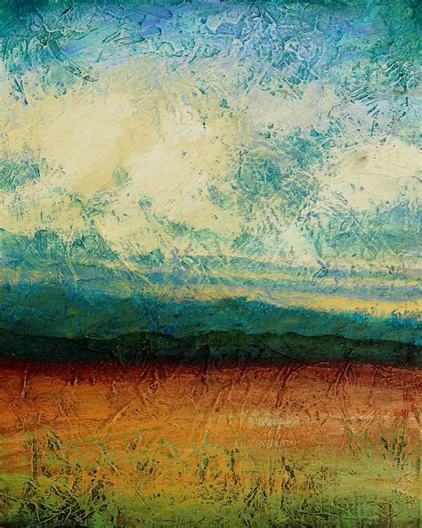 acrylic painting landscape abstract landscape painting acrylic painting sky blue peaceful