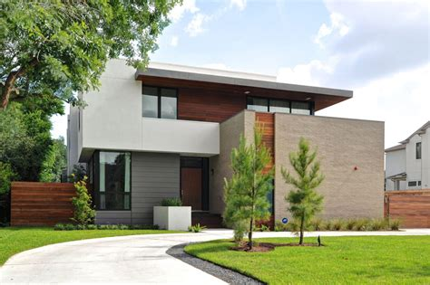 architectural house modern house in houston from architectural firm studiomet