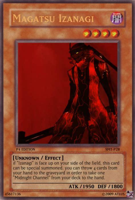 magatsu izanagi yugioh card by chibameta on deviantart