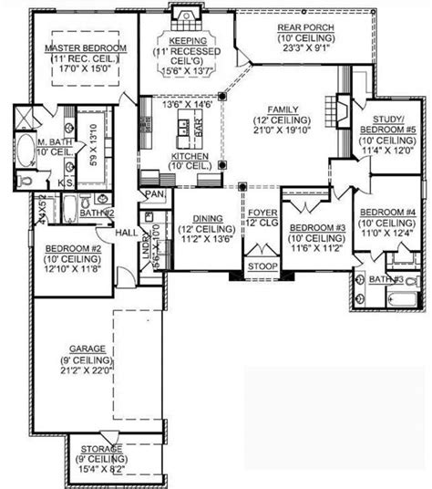 story house floor with basement and house the 1 5 story house plans with basement 1 story 5 bedroom