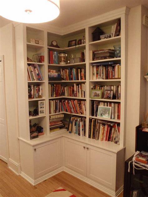 corner bookshelves 25 best ideas about corner bookshelves on
