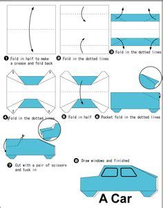 easy origami car 1000 images about origami on cars easy