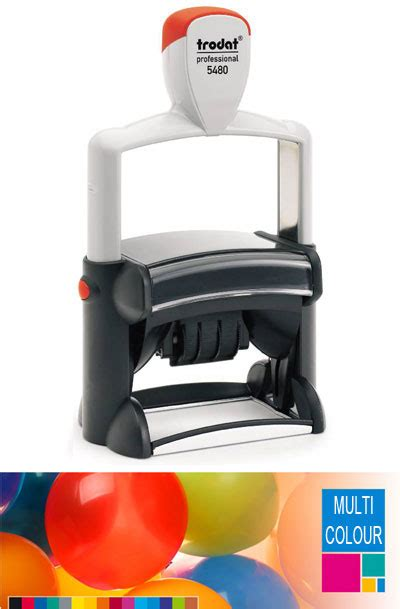 rubber sts nz trodat multi color self inking 28 images multi colour