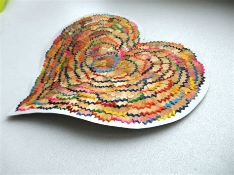 craft work for with waste materials hearts from waste material simple craft ideas