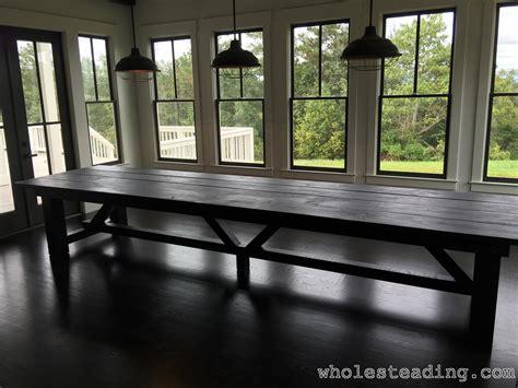 Farmhouse Dining Room Table Wholesteading Com