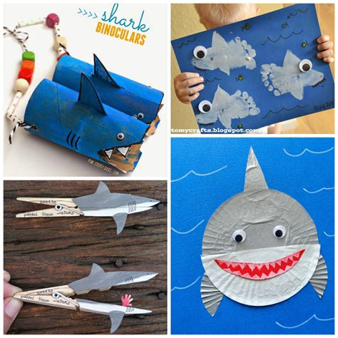 easy shark crafts for easy shark crafts for toddlers