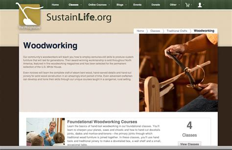 woodworkers web new site and some news heritage school of