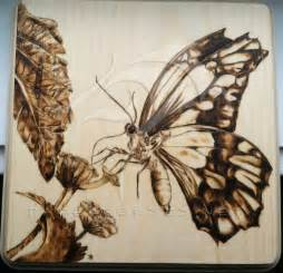 butterfly woodworking butterfly pyrography butterfly2 t his was done
