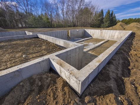 types of house foundations the 4 types of foundation found in homes