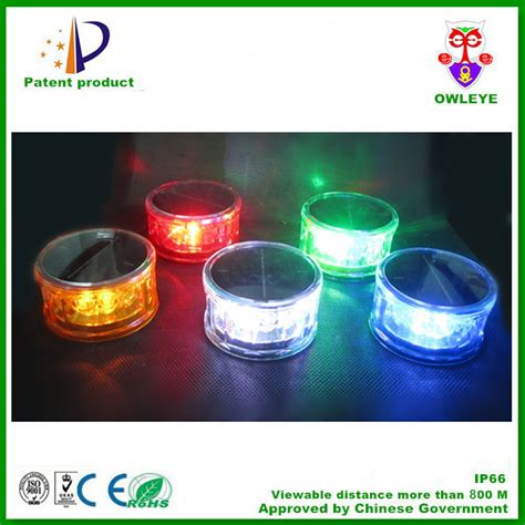solar powered led lights solar powered led warning lights with magnet portable