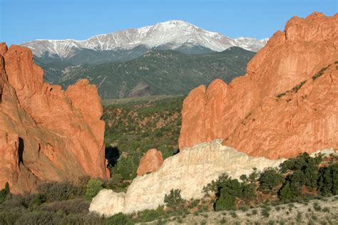 Garden Of The Gods To Pikes Peak Garden Of The Gods Colorado Travel Photographers Magazine