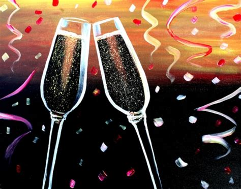 paint nite new years miller s ale house kendall 12 29 2015 paint nite event