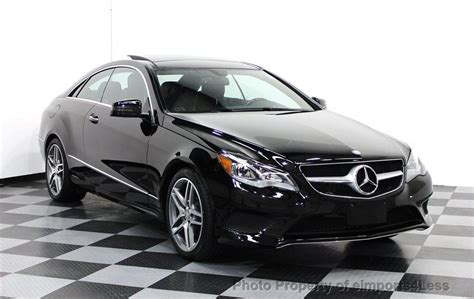 Mercedes E350 Coupe 2014 by 2014 Used Mercedes Certified E350 4matic Awd Coupe