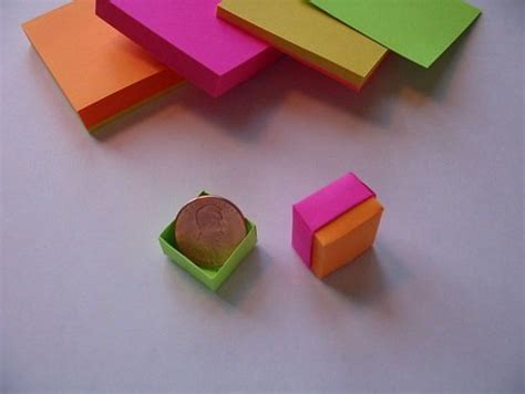 easy sticky note origami 17 best images about origami on crabs picnic