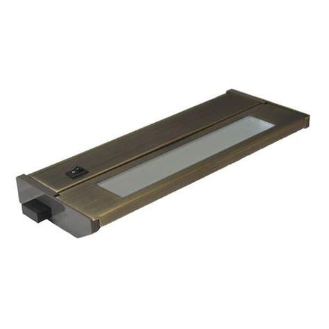 American Fluorescent Cabinet Lighting by American Lighting 42482 Bronze 10 Quot 6 Watt 3000k