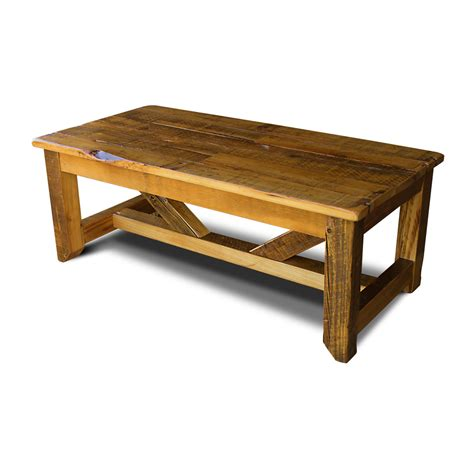 all coffee tables all wood coffee table stahl band rustic coffee table w