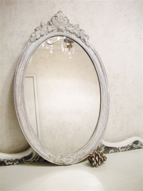 vintage shabby chic mirrors chic vintage mirror large vintage wood shabby chic by