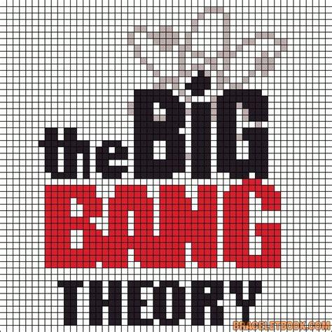 big perler bead board the big theory perler bead pattern beadpaterns