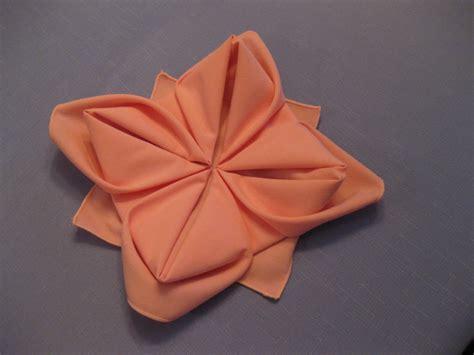 napkin folding origami napkin folding on napkins tree