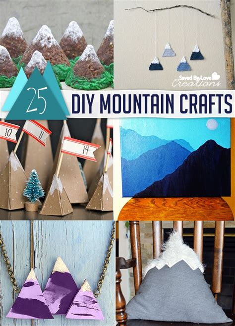 mountain crafts for 25 best ideas about mountain crafts on
