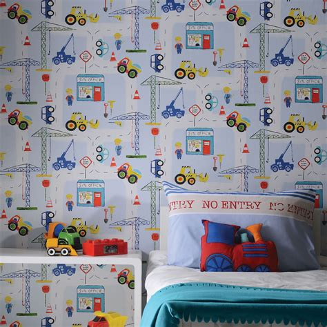 Childrens Car Wallpaper Uk by Holden Decor Playtime Collection Wallpaper For