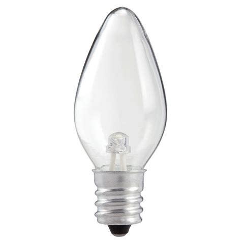 what is a c7 bulb philips 0 6 watt c7 light replacement led light bulb