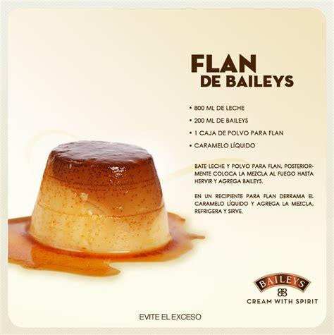 flan de baileys dessert recipe antojitos