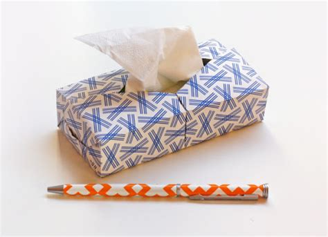 mini origami mini origami kleenex box how about orange
