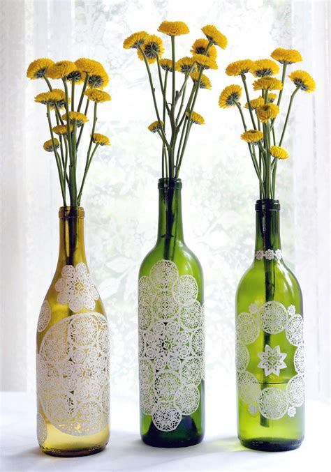 craft ideas for using recycled materials recycled crafts flower vase with crafts using