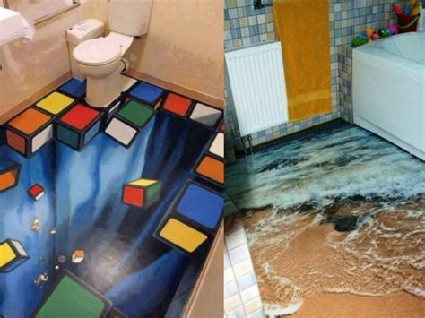 Mario Wall Stickers Uk amazing 3d floors how to turn your bathroom into an ocean