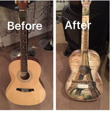 how to decoupage a guitar guitar photos of and photos on
