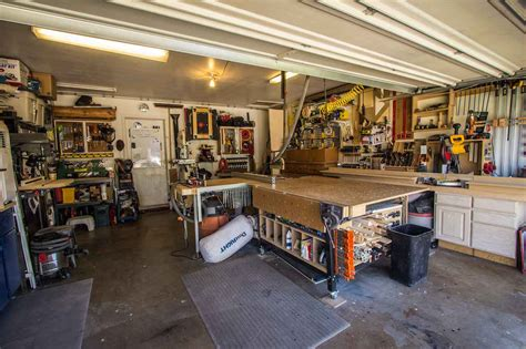 the woodworkers garage anthony s garage woodshop the wood whisperer
