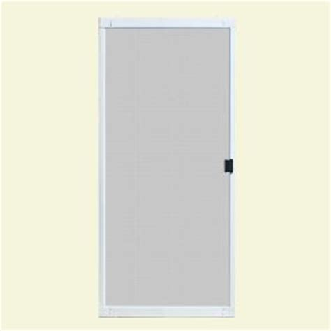 patio door screens home depot unique home designs 30 in x 80 in standard white metal