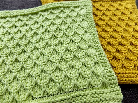 honeycomb knitting pattern dishcloth 11 mock honeycomb knitting unlimited