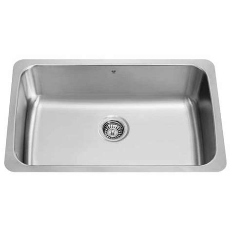 stainless steel undermount single bowl kitchen sink vigo 30 inch undermount stainless steel 18 single