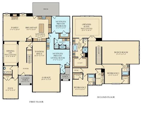 home within a home floor plans nextgen a home within a home for multi generational