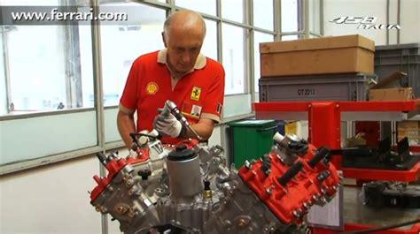 accident recorder 2007 ferrari f430 engine control follow a ferrari 458 italia engine through the assembly process video