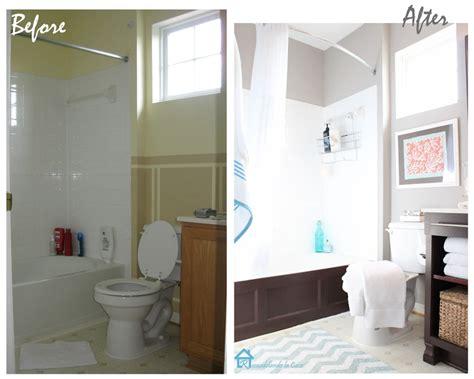 Cheap Bathroom Makeovers by Cheap Bathroom Makeover Banos