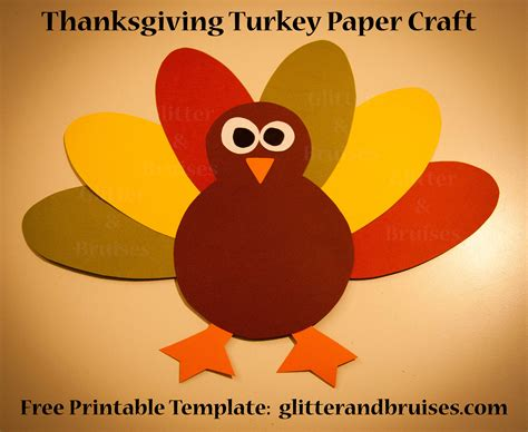 easy thanksgiving paper crafts 8 best images of free printable thanksgiving crafts free