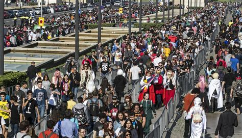 salon de manga barcelona el gran carnaval del manga inunda la fira de montju 239 c