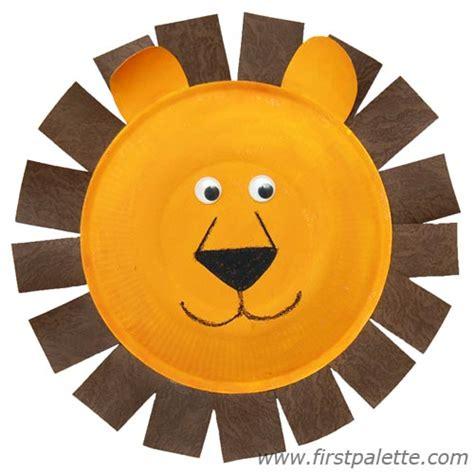 paper plate animal craft bermulanya di prasekolah ini paper plate craft