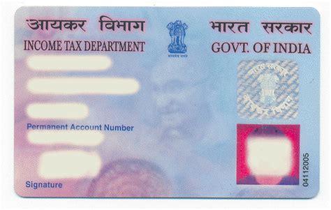 make pan card india pan permanent account number india apply for pan number
