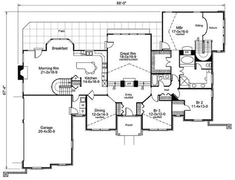 atrium ranch house plans 28 images complete patio door
