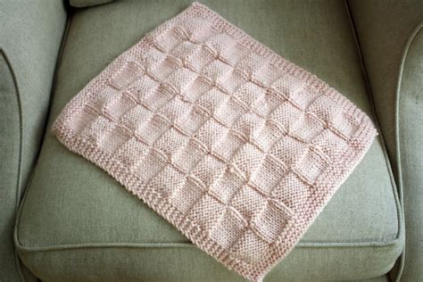 blanket knitting sew grown knitted doll blanket