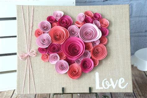 flower paper craft ideas spiraled paper flower craft family crafts